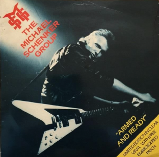 "Michael Schenker Group (The) ‎- Armed And Ready (7"") (Clear Vinyl) (G-/G+)"